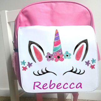unicorn head ruck sack