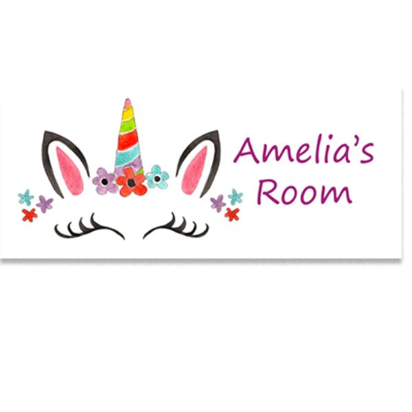 girls room sign