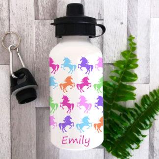 unicorn personalised bottle