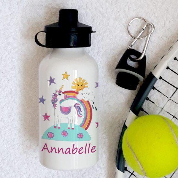 Personalised Unicorn Bottle