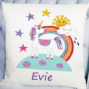 personalised girls cushion