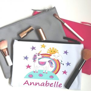 unicorn make up bag