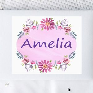 baby girl personalised gift