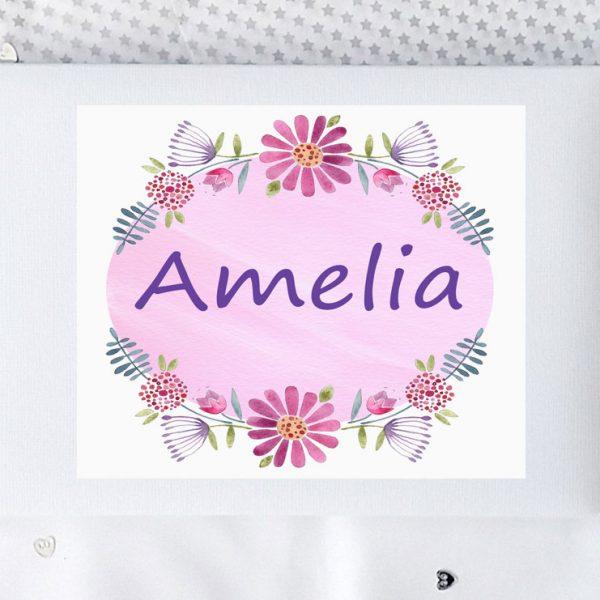 baby girl personalised gift