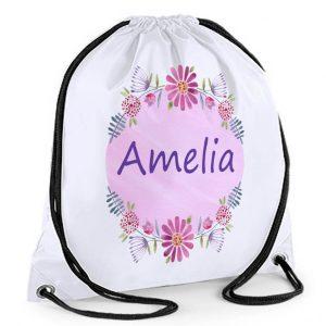 girls swimming bag