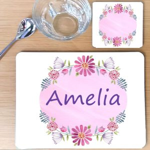 children's personalised placemats
