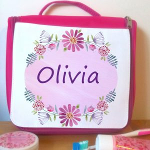 personalised holiday travel bag
