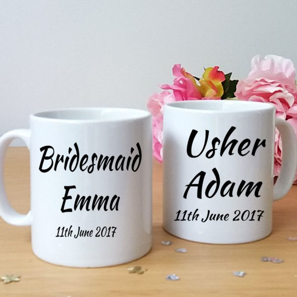 wedding party personalised gifts