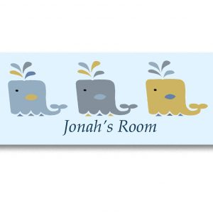 boys room door sign
