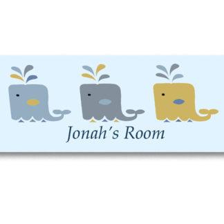 boys room door sign